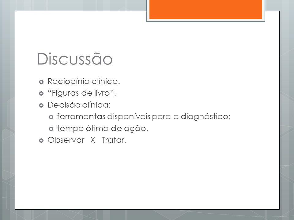 Discussão Raciocínio clínico. Figuras de livro . Decisão clínica: