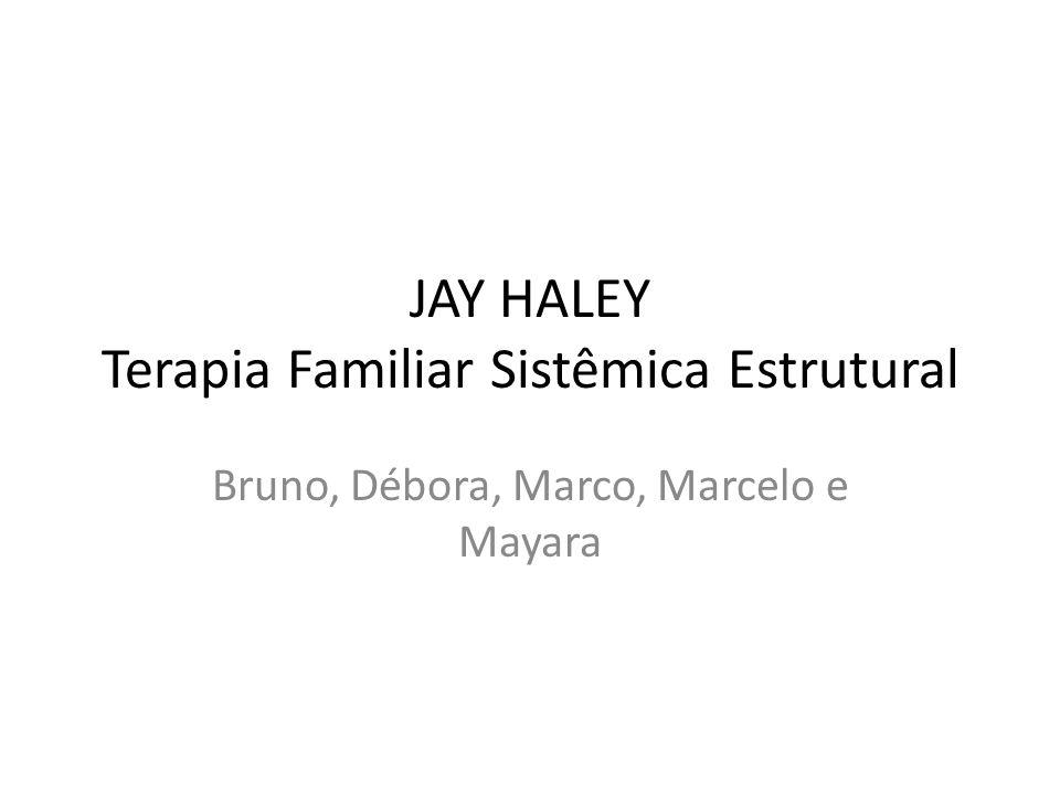 JAY HALEY Terapia Familiar Sistêmica Estrutural