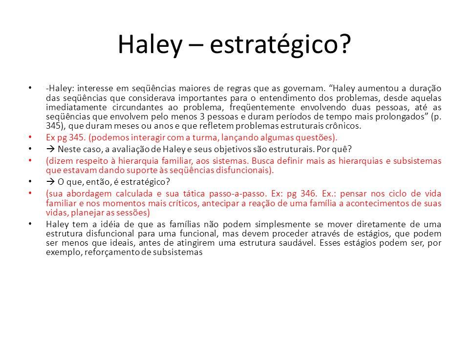 Haley – estratégico