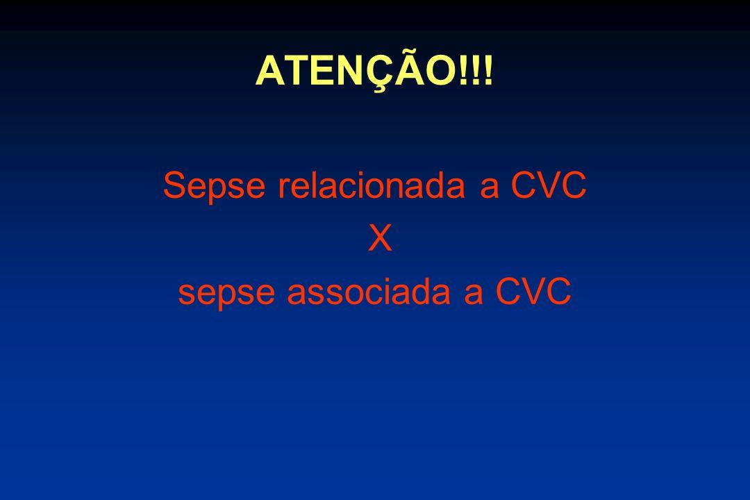 Sepse relacionada a CVC
