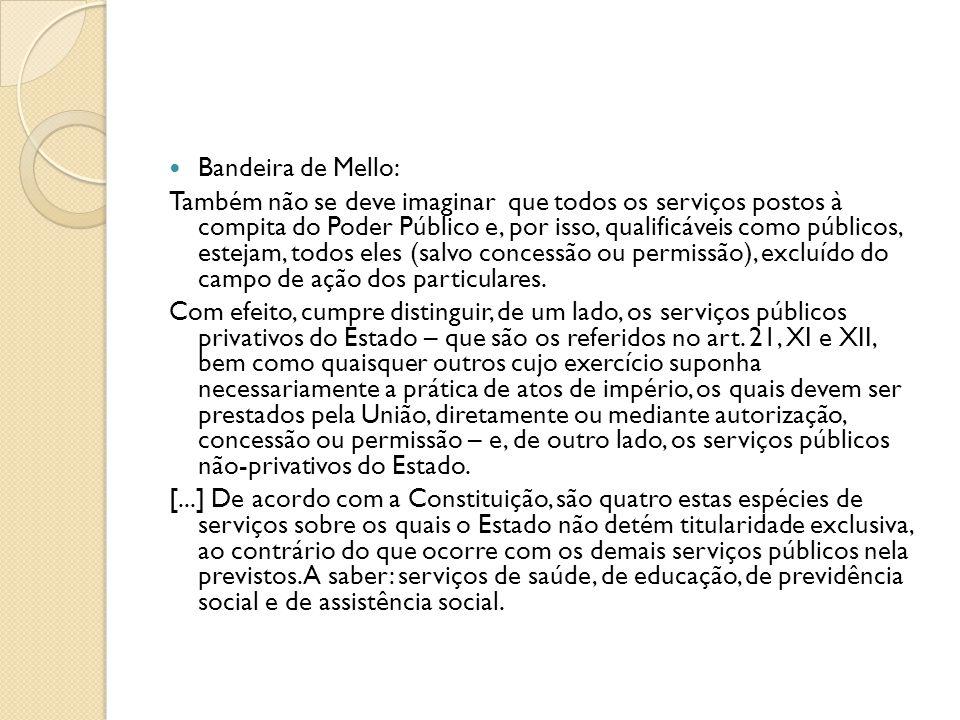 Bandeira de Mello: