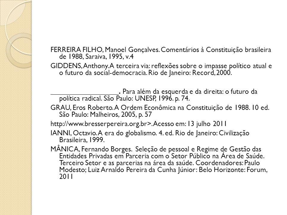 FERREIRA FILHO, Manoel Gonçalves