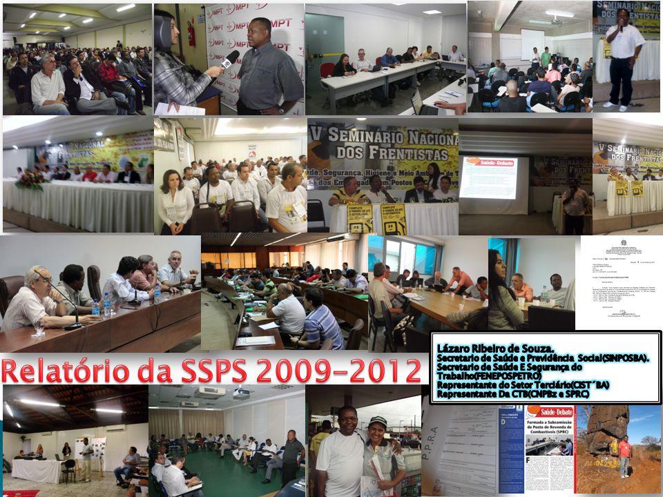 Relatório da SSPS 2009-2012 Lázaro Ribeiro de Souza.