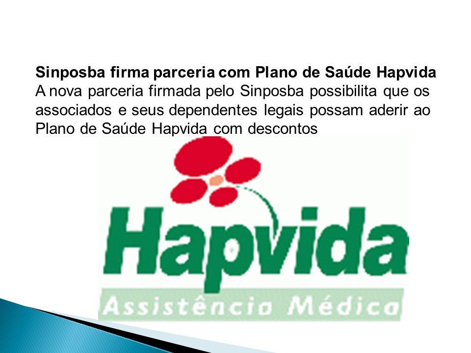 Sinposba firma parceria com Plano de Saúde Hapvida