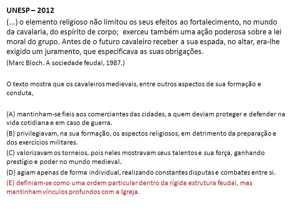 UNESP – 2012