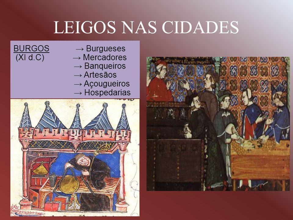 LEIGOS NAS CIDADES BURGOS → Burgueses (XI d.C) → Mercadores