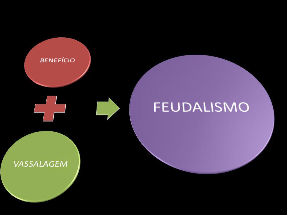 BENEFÍCIO VASSALAGEM FEUDALISMO