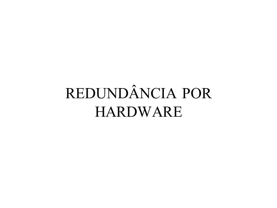 REDUNDÂNCIA POR HARDWARE
