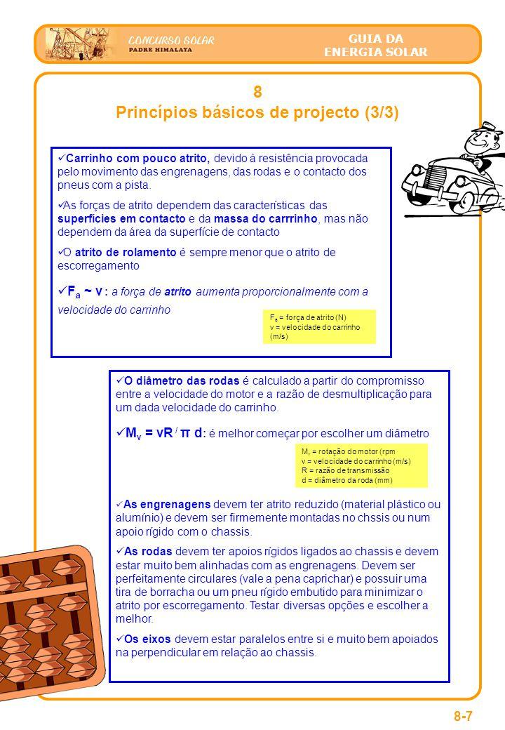 Princípios básicos de projecto (3/3)