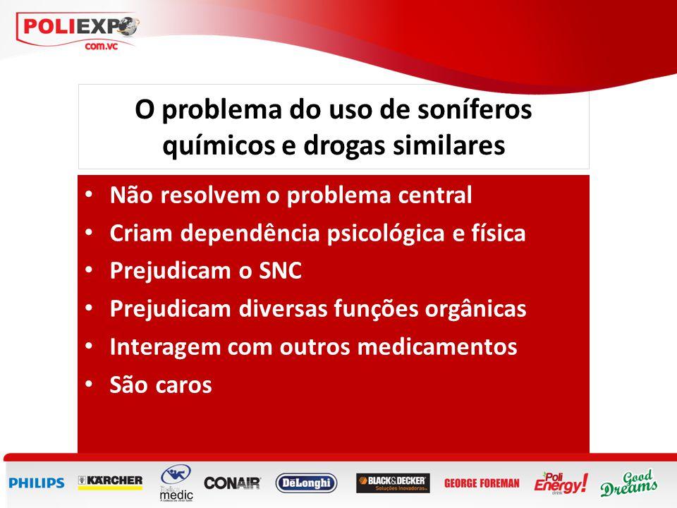 O problema do uso de soníferos químicos e drogas similares