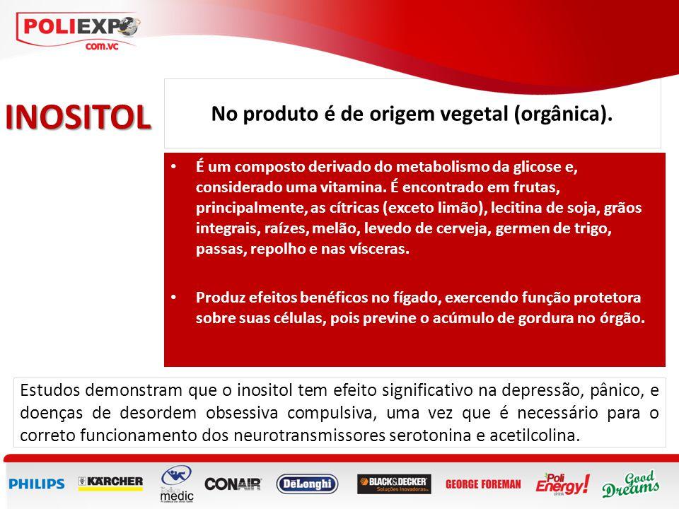 No produto é de origem vegetal (orgânica).