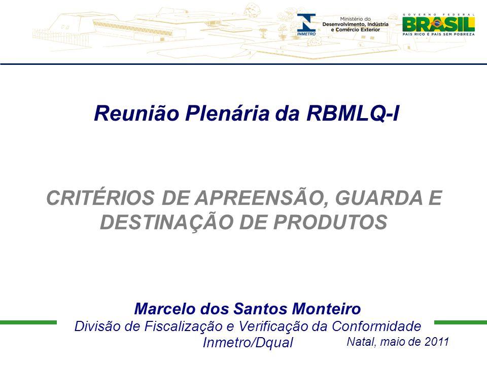 Reunião Plenária da RBMLQ-I