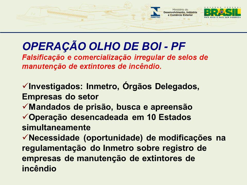 OPERAÇÃO OLHO DE BOI - PF