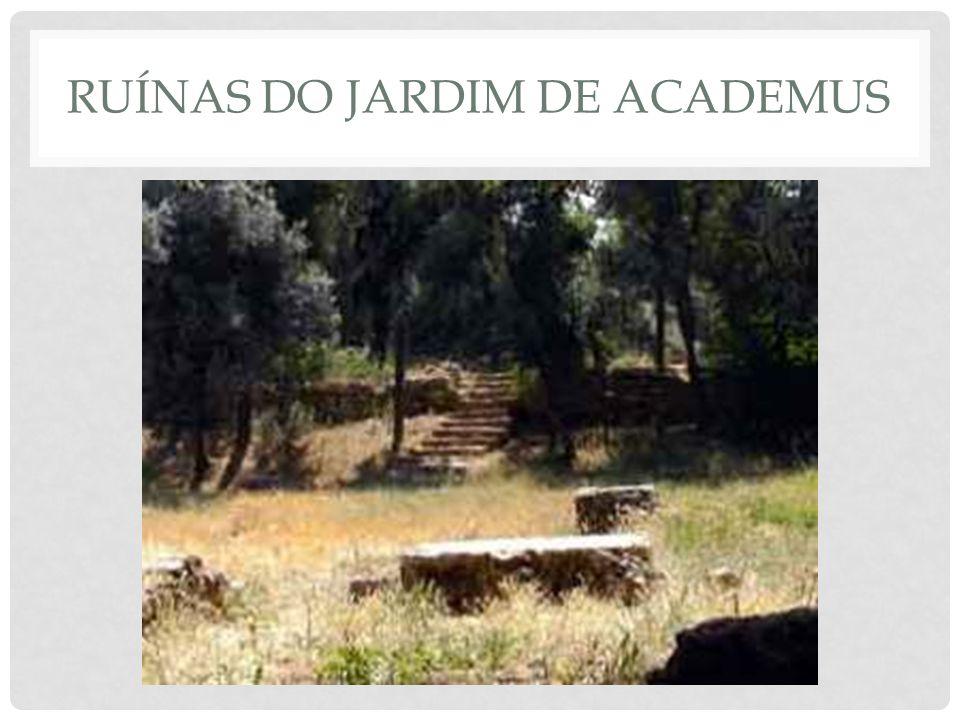 Ruínas do jardim de academus