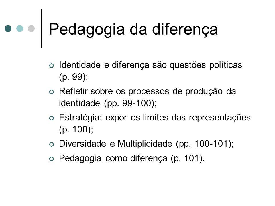 Pedagogia da diferença