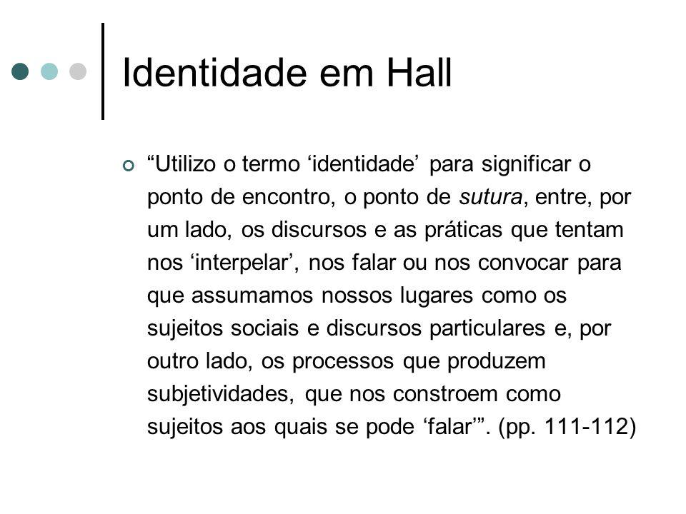 Identidade em Hall
