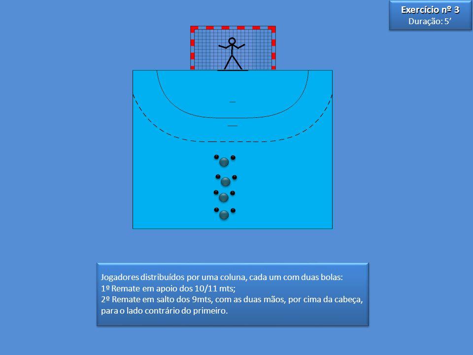 Exercício nº 3 Duração: 5'
