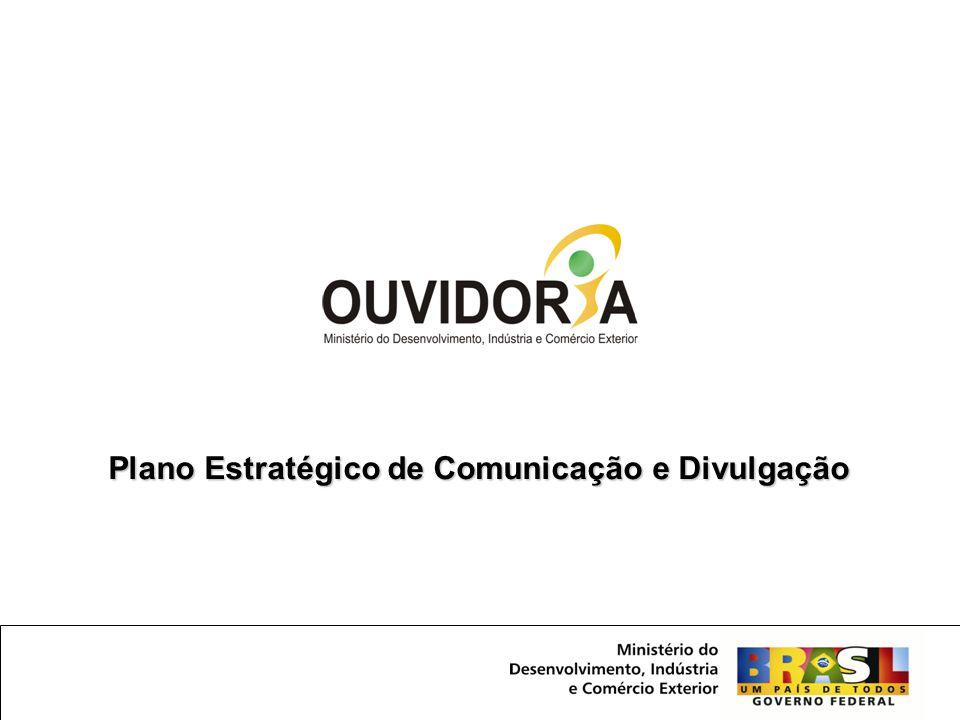 Plano Estratégico de Comunicação e Divulgação