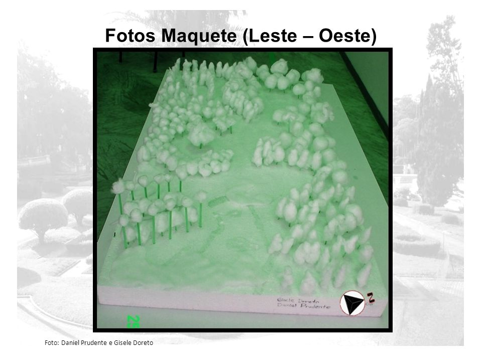 Fotos Maquete (Leste – Oeste)