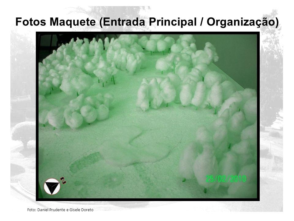 Fotos Maquete (Entrada Principal / Organização)