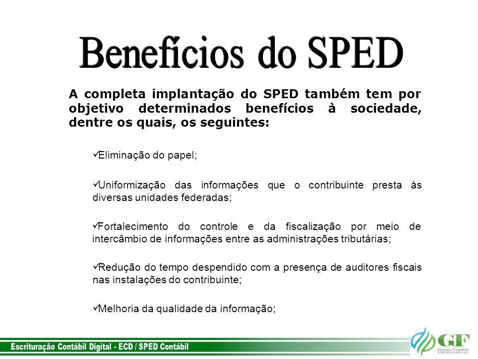 Escrituração Contábil Digital - ECD / SPED Contábil