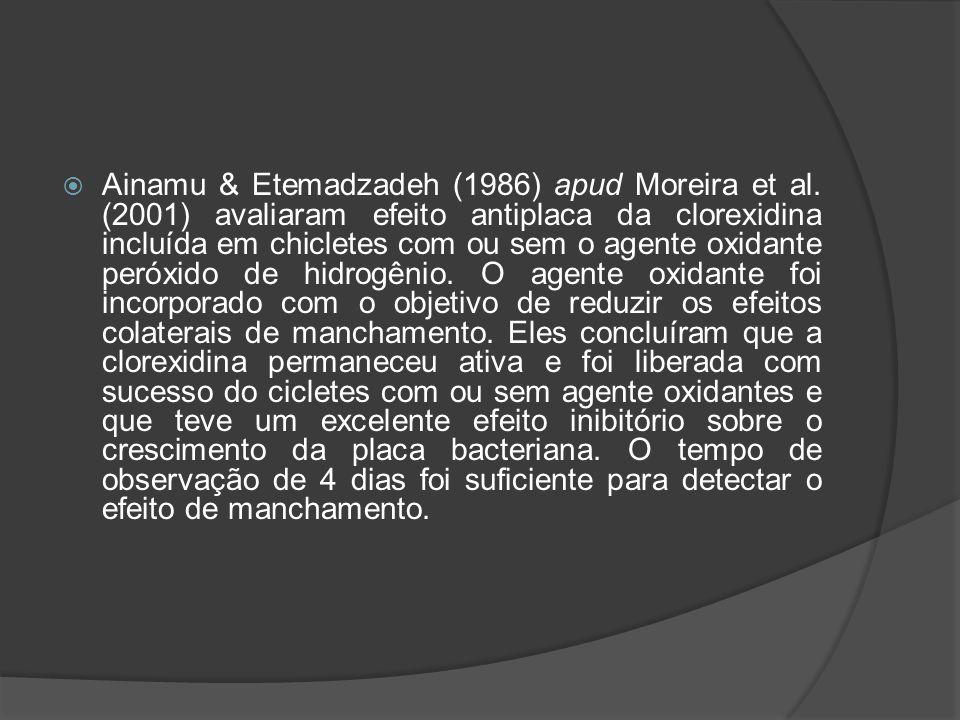 Ainamu & Etemadzadeh (1986) apud Moreira et al