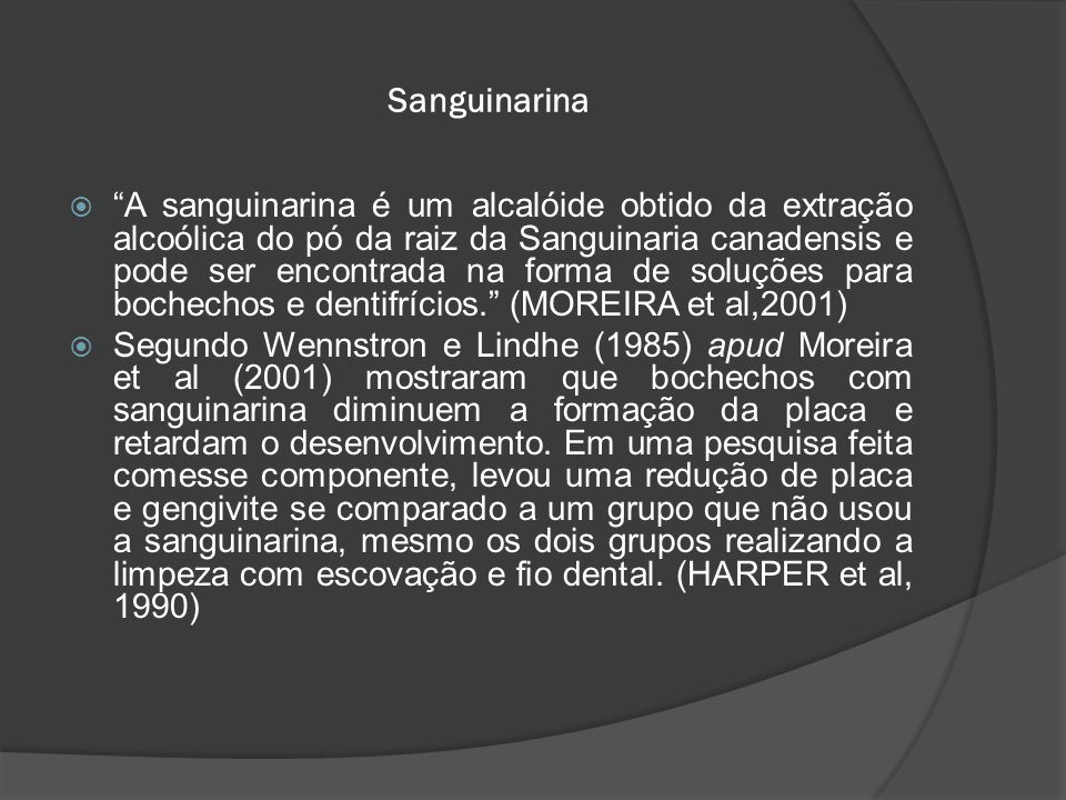 Sanguinarina