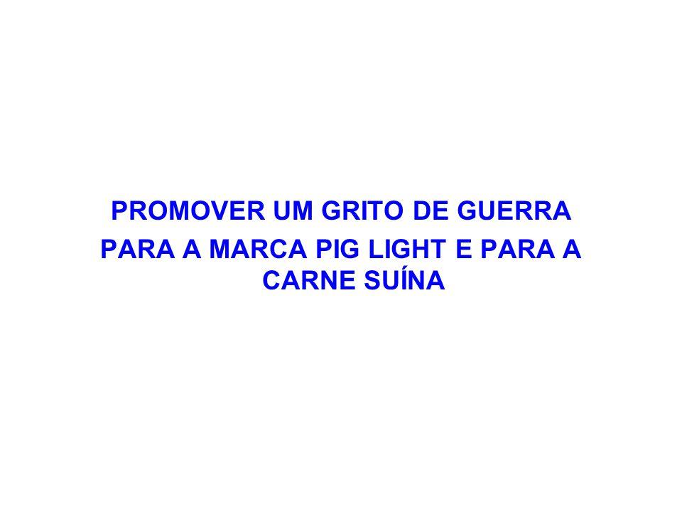 PROMOVER UM GRITO DE GUERRA