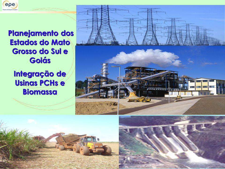 Planejamento dos Estados do Mato Grosso do Sul e Goiás