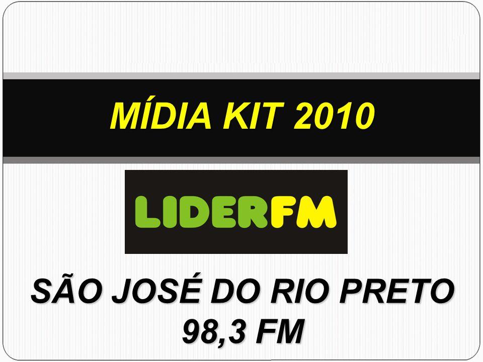 MÍDIA KIT 2010 SÃO JOSÉ DO RIO PRETO 98,3 FM