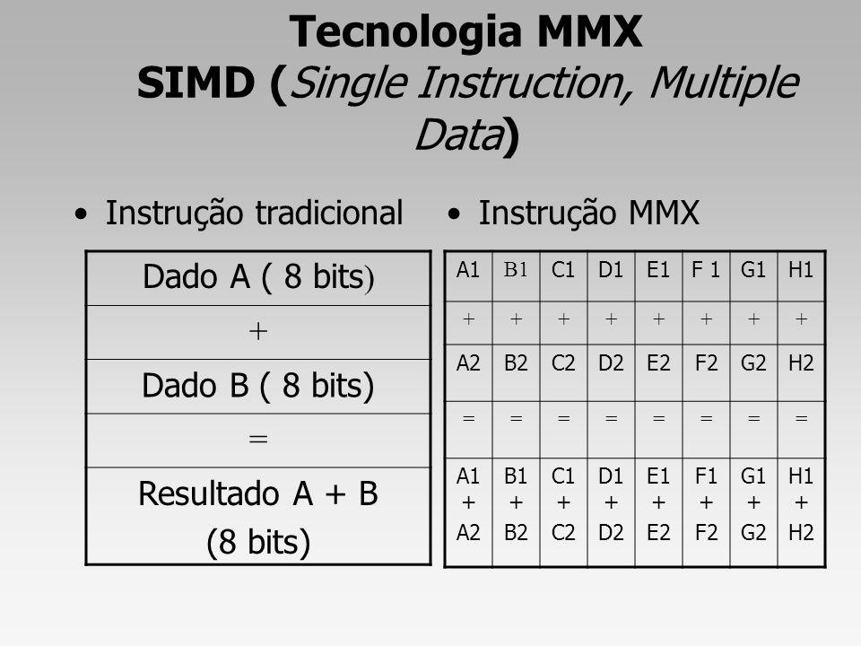 Tecnologia MMX SIMD (Single Instruction, Multiple Data)