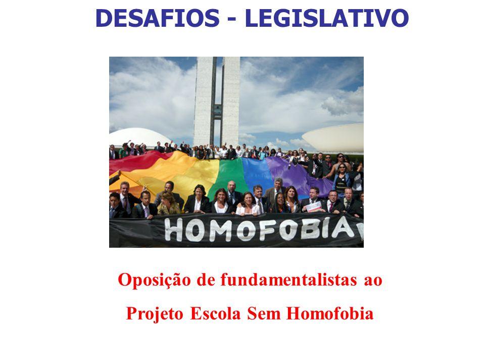 Oposição de fundamentalistas ao Projeto Escola Sem Homofobia
