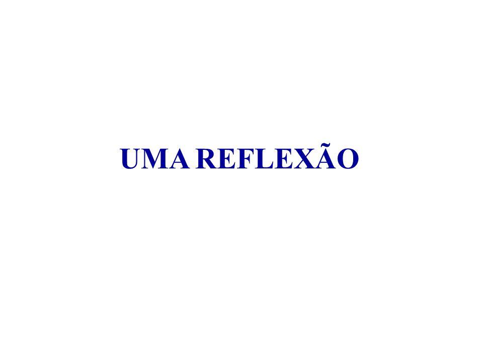 UMA REFLEXÃO