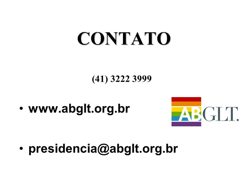 CONTATO (41) 3222 3999 www.abglt.org.br presidencia@abglt.org.br
