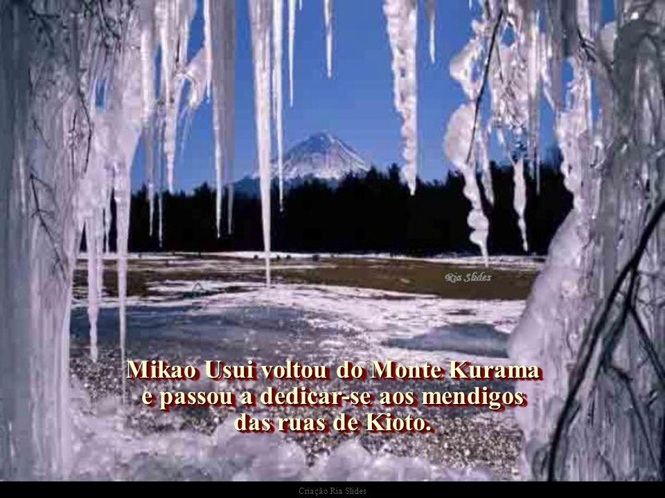 Mikao Usui voltou do Monte Kurama e passou a dedicar-se aos mendigos das ruas de Kioto.