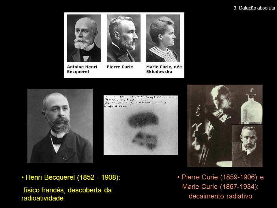 físico francês, descoberta da radioatividade