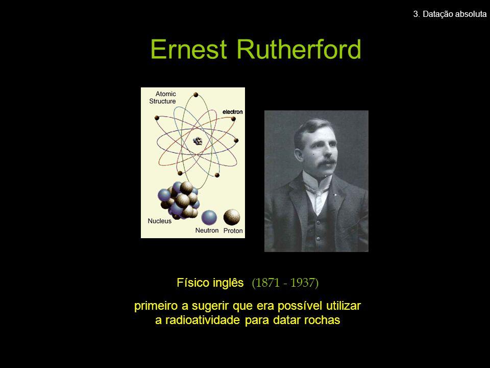 Ernest Rutherford Físico inglês (1871 - 1937)
