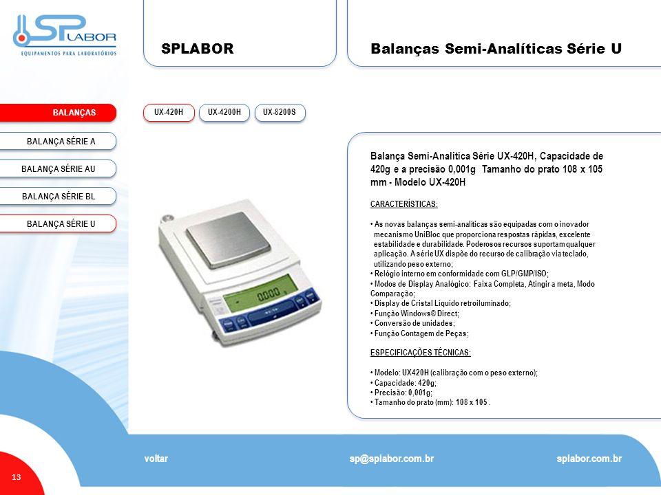 Balanças Semi-Analíticas Série U
