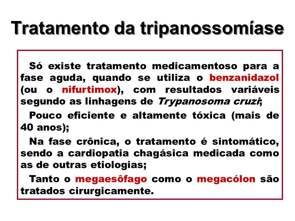 Tratamento da tripanossomíase