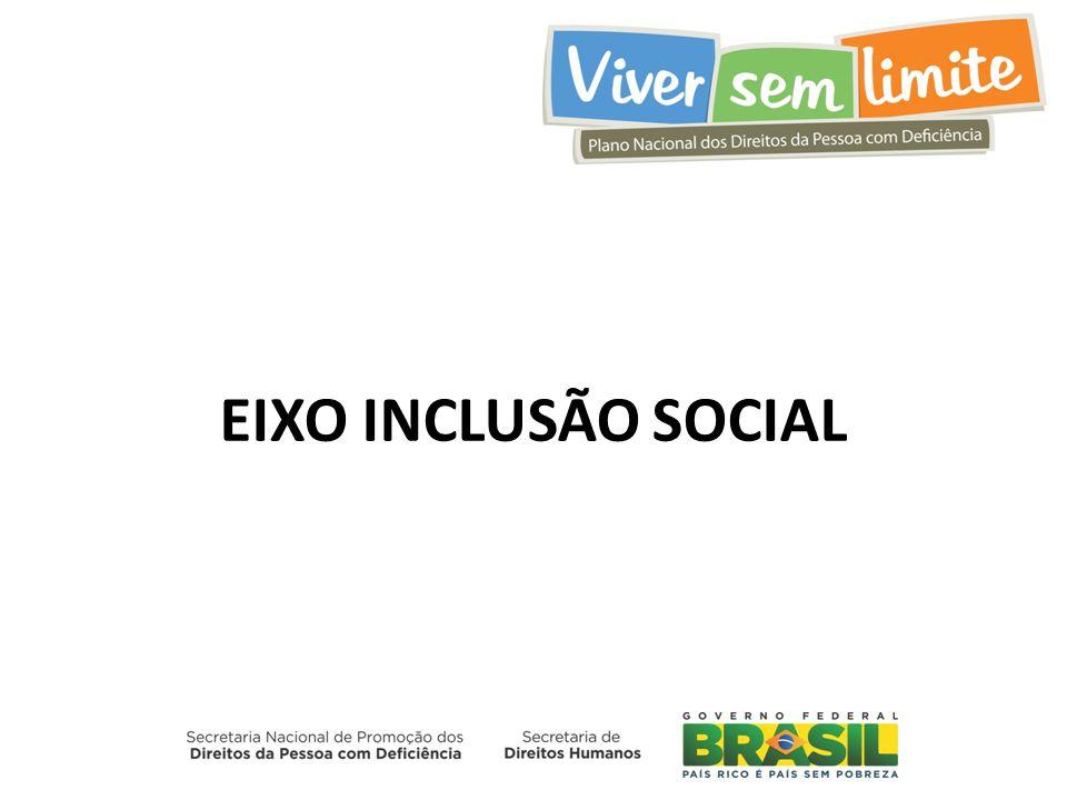 EIXO INCLUSÃO SOCIAL