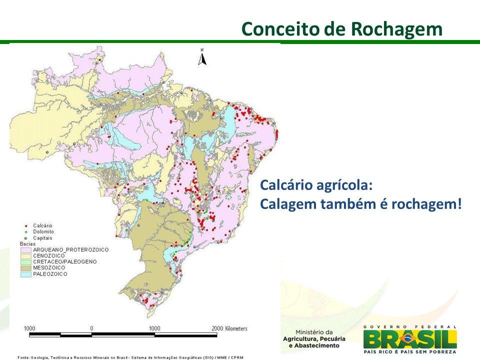 Conceito de Rochagem Calcário agrícola: Calagem também é rochagem! 26