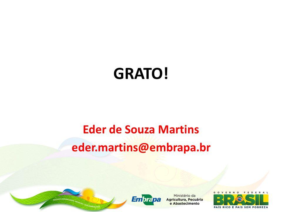 Eder de Souza Martins eder.martins@embrapa.br