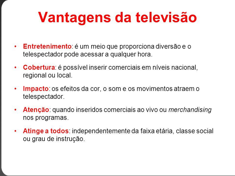 Vantagens da televisão