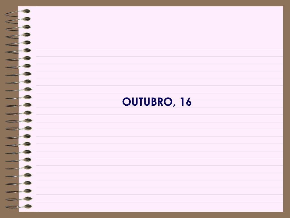 OUTUBRO, 16