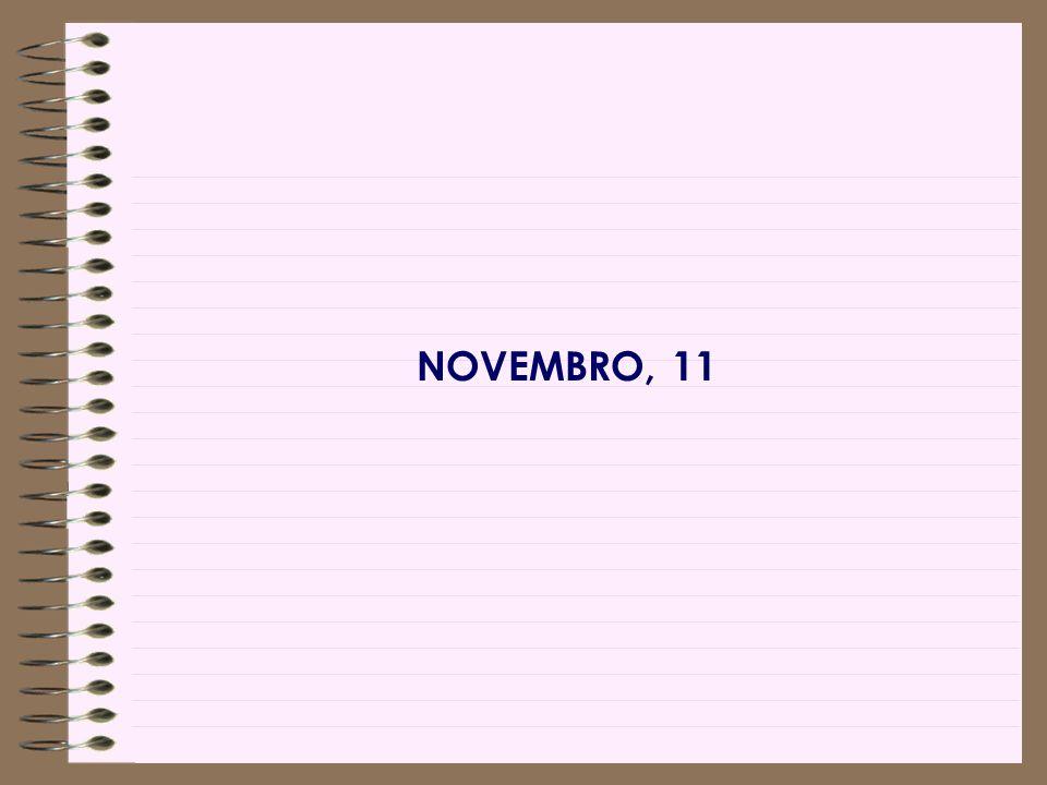 NOVEMBRO, 11