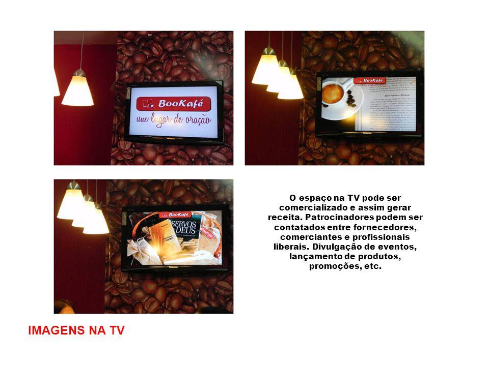 O espaço na TV pode ser comercializado e assim gerar receita
