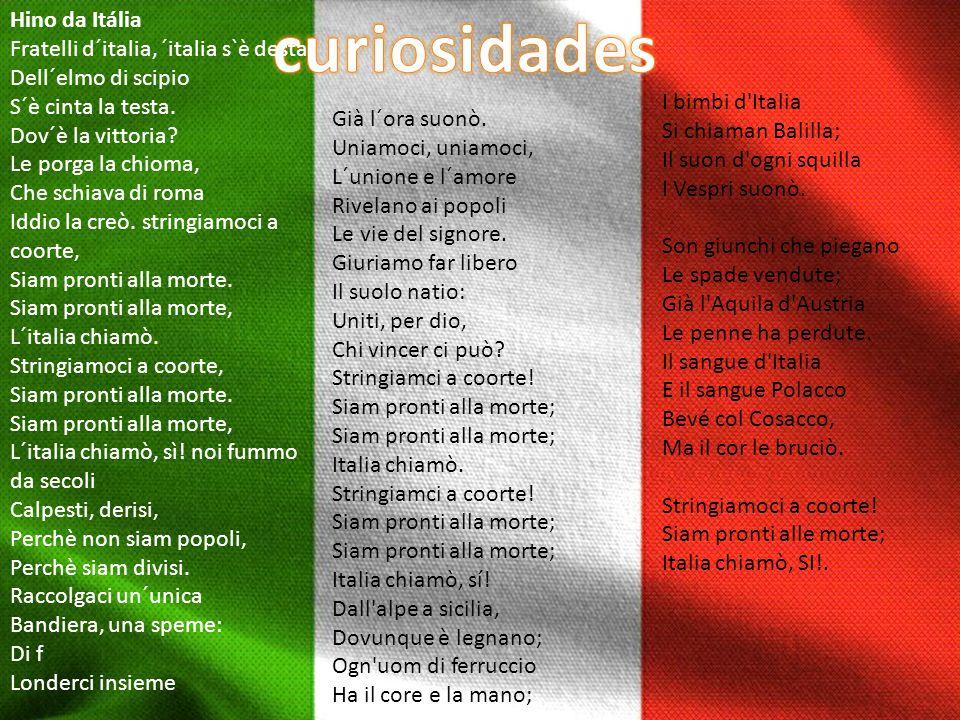 curiosidades Hino da Itália