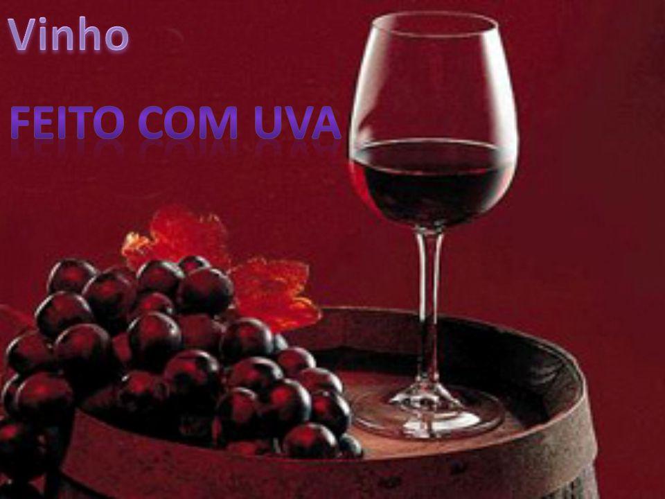 Vinho Feito com uva