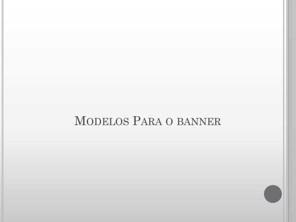 Modelos Para o banner