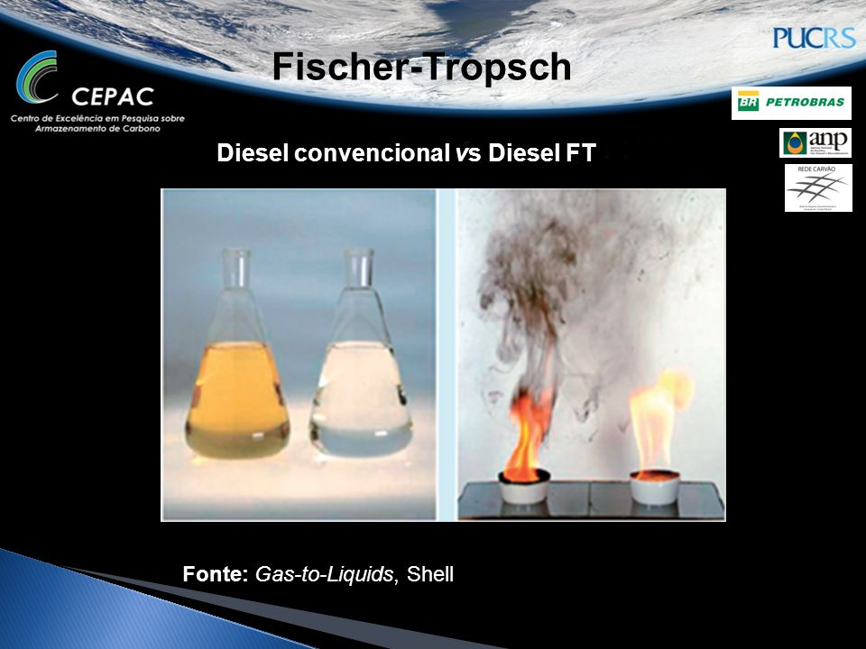 Fischer-Tropsch Diesel convencional vs Diesel FT